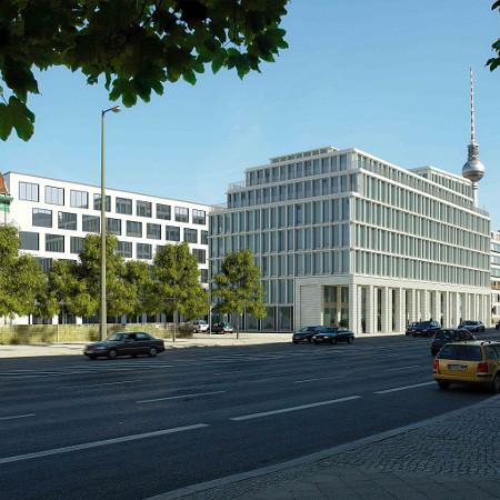 Außenansicht Frasers Hotel Berlin Petriplatz
