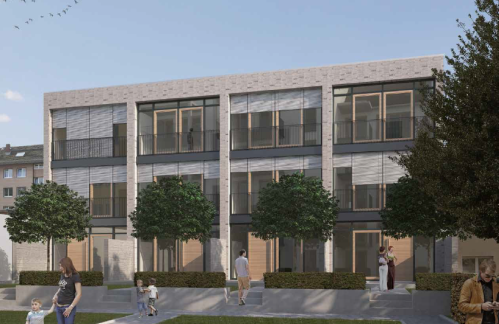 """Colliers International: Eigentumswohnungen und Townhäuser im Neubauprojekt """"Natürlich Gallus"""" in Frankfurt zu 100 Prozent verkauft"""