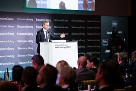SZ Wirtschaftsgipfel, Günther Oettinger