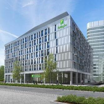 Aussenansicht Hotel Holiday Inn Gateway Gardens Frankfurt