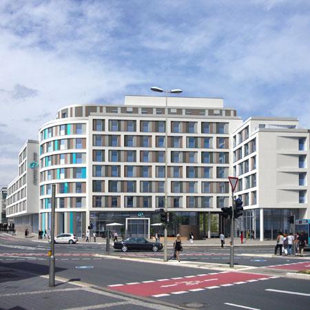 Aussenansicht Hotel Motel One Bonn