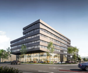 V12 Building in Köln bietet rund 12.500 Quadratmeter moderne Büroflächen mit Domblick