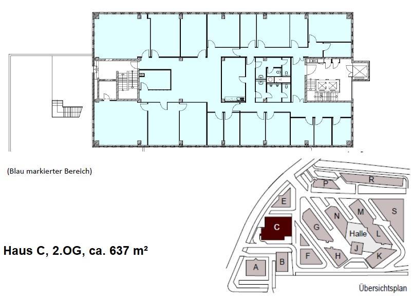 Haus C, 2.OG, ca. 637 m²