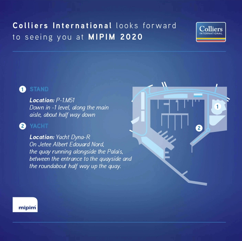 MIPIM 2020 Colliers Location