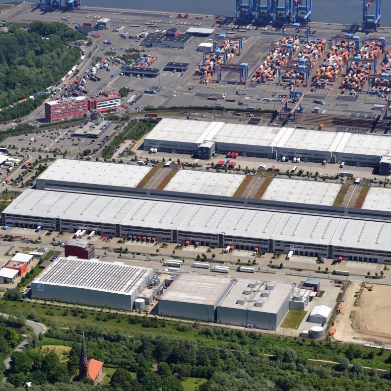 Moderne Logistikflächen