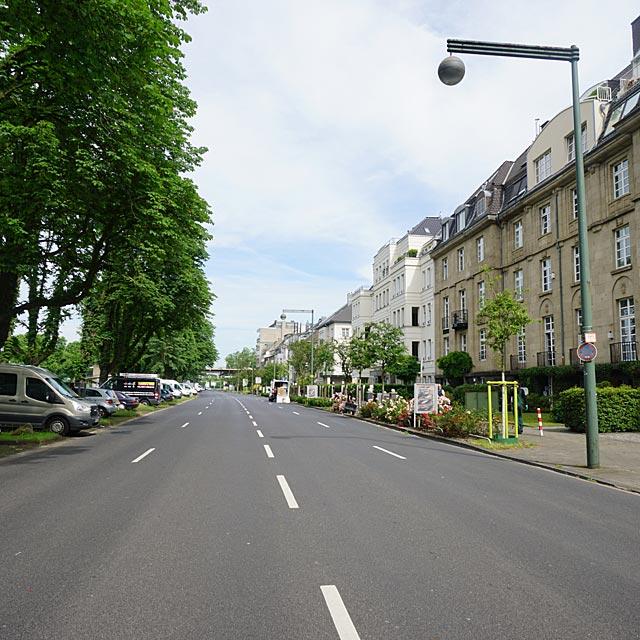 Kennedydamm Duesseldorf