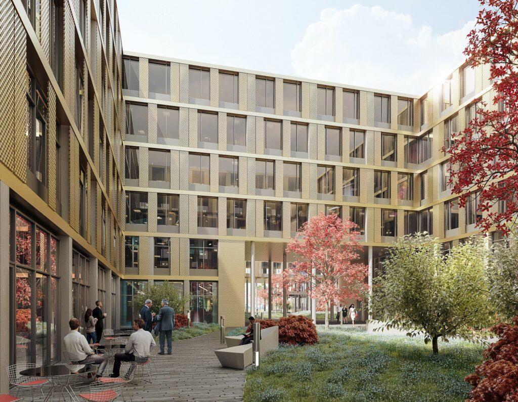 HanseMerkur Grundvermögen AG investiert in Wissenscampus von WÖHR + BAUER