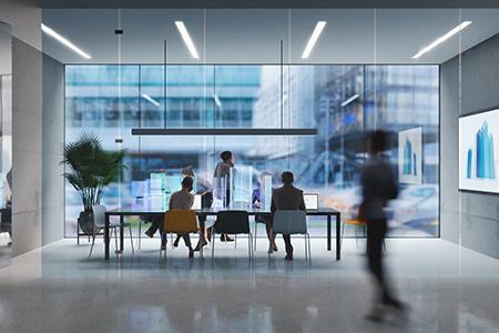 Futuristic Office