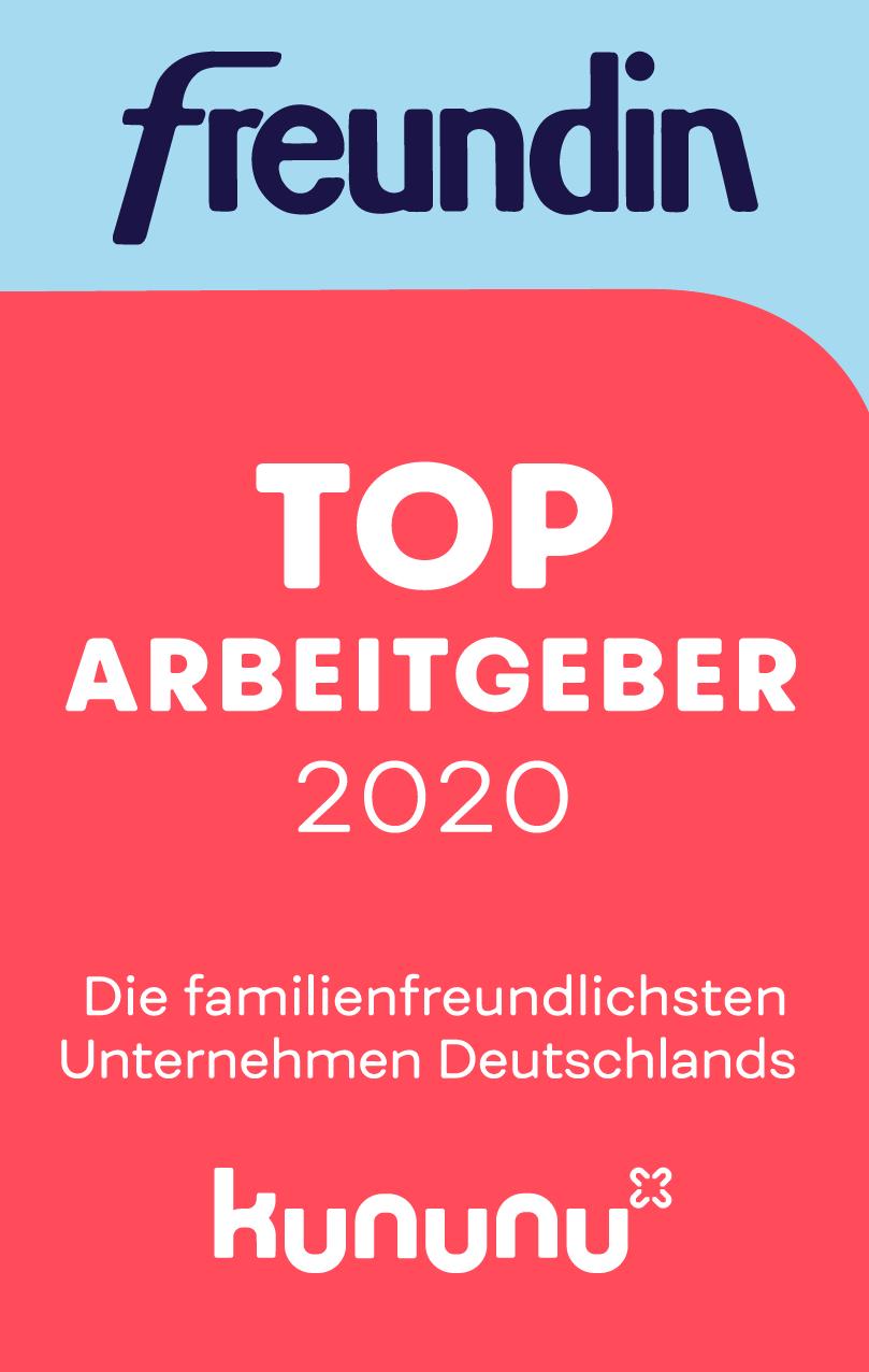 Freundin TOP Arbeitgeber Deutschland