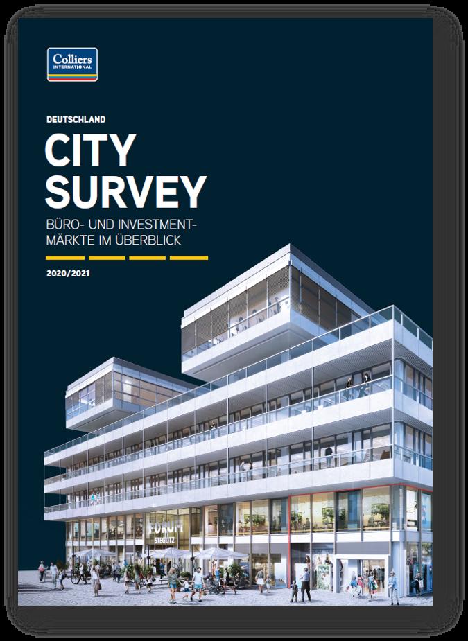 Colliers Research City Survey De Bild Schatten