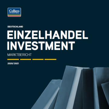 Einzelhandel Investment 2020 2021 Q