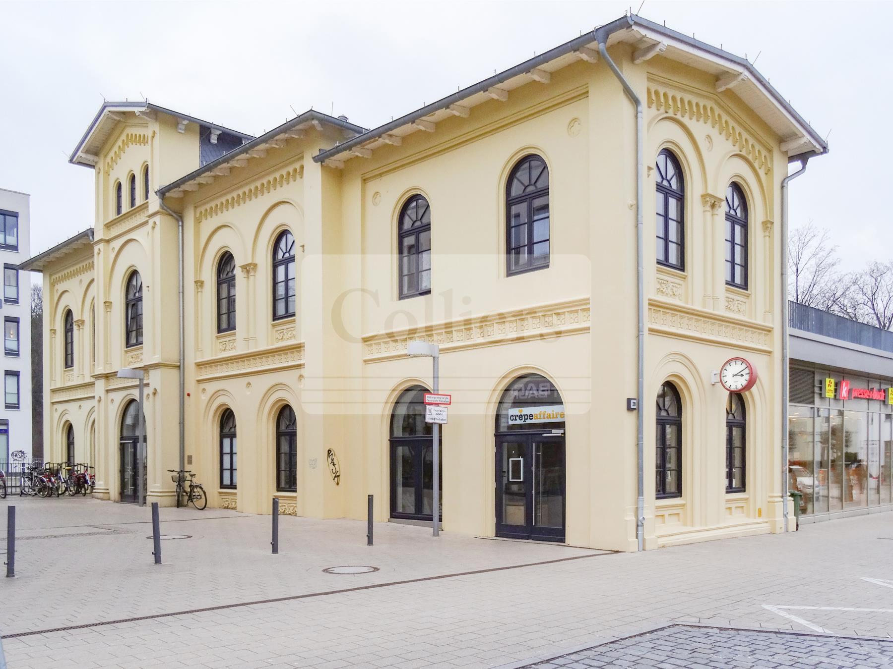 Büro im Bahnhof Blankenese!