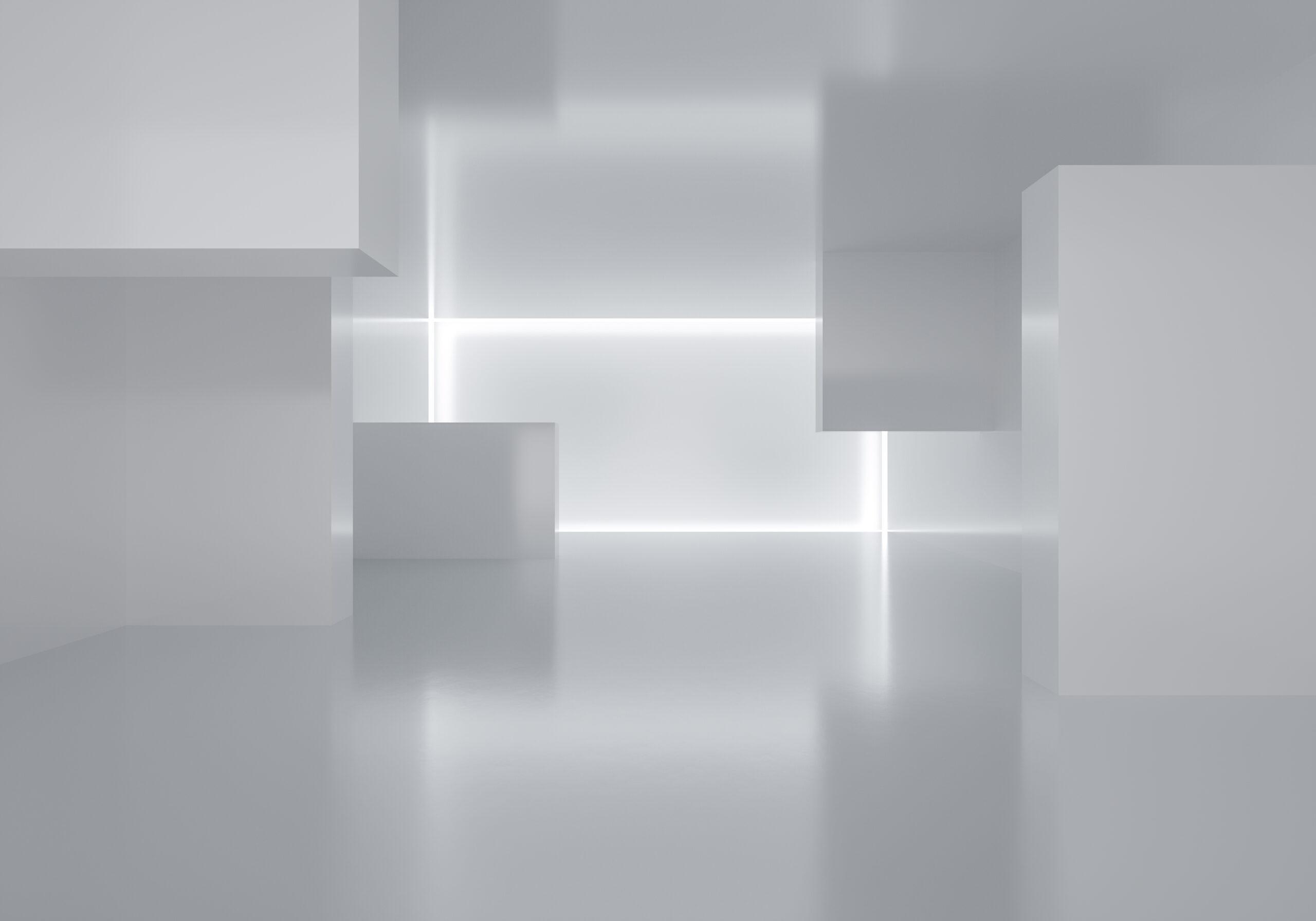 3d Rendering Indoor Exhibition Background